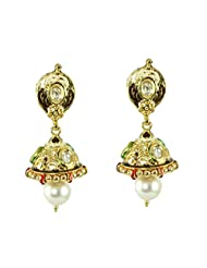 BGS Style Diva Gold Plated Metal Earring For Women - B00L2EJQ12