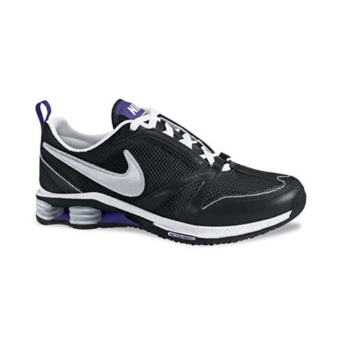 Nike Women's NIKE SHOX ZIPSISTER+ WOMEN'S TRAINING SHOES 8.5 (BLACK/MET SILV/WHITE/CNCRD)