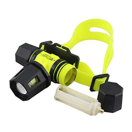 New 450 Lumens Rotating Zoom In/Out Q5 Cree Led Diving Headlight Lamp From Us