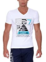 Rivaldi Camiseta Manga Corta Modi (Blanco / Negro)