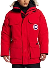 Canada Goose Men's Expedition Parka,Red,Medium