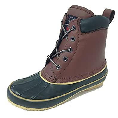 G-9021SC Women's Duck Boots Leather Waterproof Thermolite