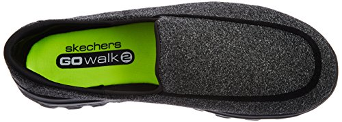 Skechers Performance Men's Go Walk 2 Super Sock Slip-On Walking Shoe, Black, 12 M US