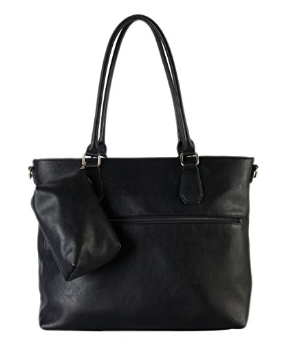 diophy-diaper-bag-pu-leather-weekender-extra-large-tote-with-baby-changing-pad-black-by-diophy
