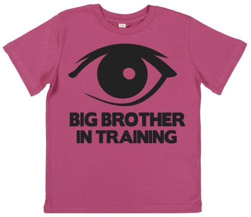 Phunky Buddha - Big Brother In Training Girl'S Top 9-10 Yrs - Pink front-740229