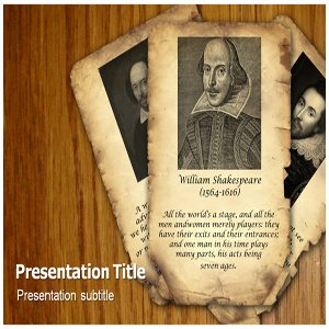 amazoncom william shakespeare powerpoint templates