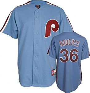 Robin Roberts Philadelphia Phillies Replica Cooperstown Jersey by Majestic by Majestic