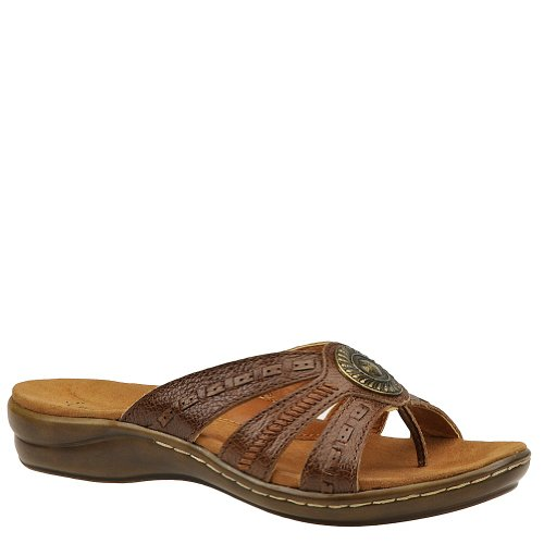Women's BareTraps, Keefer Thong Sandal AUBURN 8 M at Amazon.com