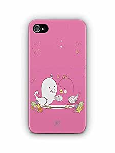 YuBingo Love Birds Designer Mobile Case Back Cover for Apple iPhone 4