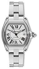Cartier Men s W62025V3 Roadster Stainless Steel Automatic Watch