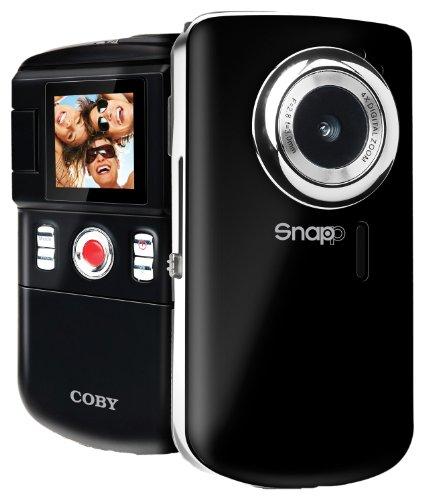 Coby 1.44-Inch TFT LCD SNAPP Mini Camcorder/Camera CAM3001BLK  (Black)