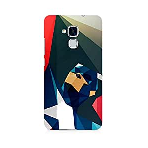 Ebby Captain America Abstract Premium Printed Case For Huawei Honor 5c