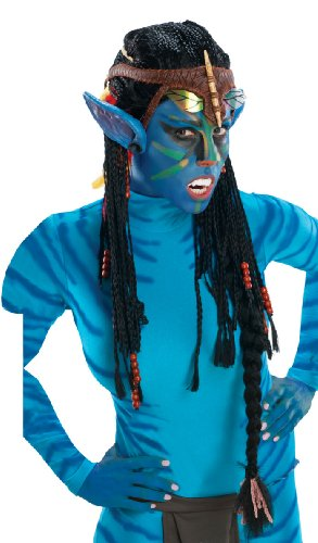 Adult Deluxe Avatar Neytiri Wig with Ears