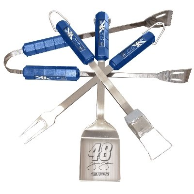 Jimmie Johnson #48 Bbq Set 4 Piece Jimmie Johnson #48 Bbq Set 4 Piece
