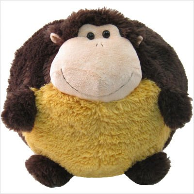 Kreative Kids Little Boys Girls Monkey Plush Pillow Cushion Ball