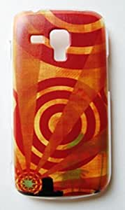 RETRO Print Stylish Hard Slim Bumper Back Case Cover For Samsung Galaxy S Duos S7562