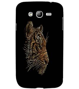 SAMSUNG GALAXY GRAND NEONEO TIGER Back Cover by PRINTSWAG