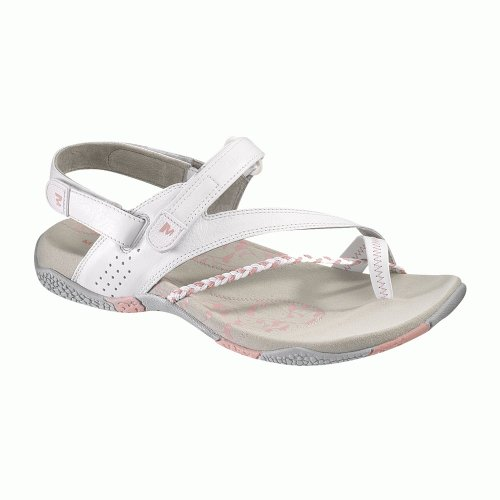 Merrell Siena Ladies' Basic Sandals J36846 White/Grey 6