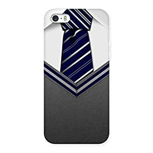 Impressive Grey Uniform Back Case Cover for iPhone 5 5S