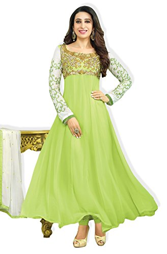 atisundar magnificent Parrot Green Bollywood Embroidered Anarkali- 5087_30_30008