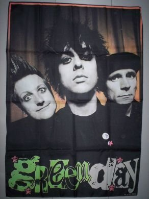 Green Day 96 x 140 cm panno poster tessuto Bandiera Banner Poster