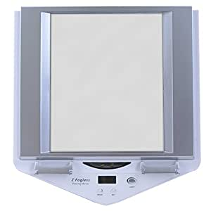 Amazon Com Zadro Z Fogless Lighted Shower Mirror White