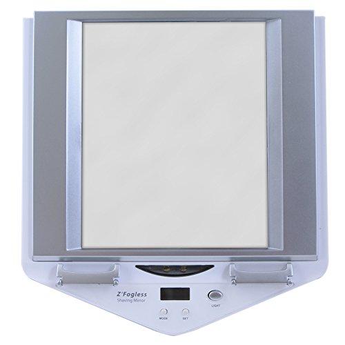 Zadro Z'Fogless Lighted Shower Mirror, White Finish