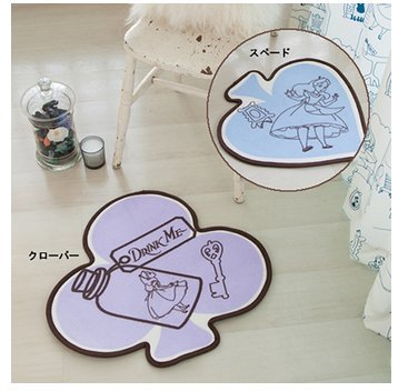 Disney Alice Accent Mat (Spade Sb-21) New From Japan F/s (Halloween Costumes Canada)