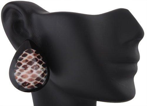 Ladies Tear Drop Style A Clip On Earrings