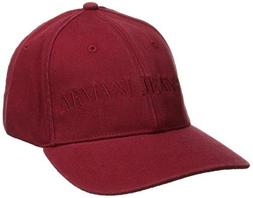 Armani Jeans Men's XE Logo Baseball Cap, Red, Small (Armani Cap compare prices)