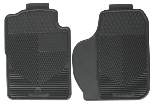 Highland 4504300 All-Weather Gray Front Seat Floor Mat front-28233