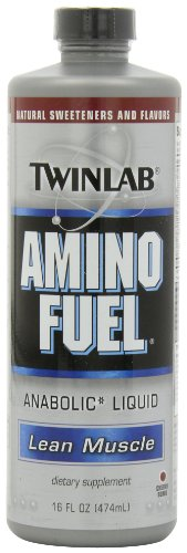 Twinlab Amino Fuel Liquid, Cherry, 16-Ounces