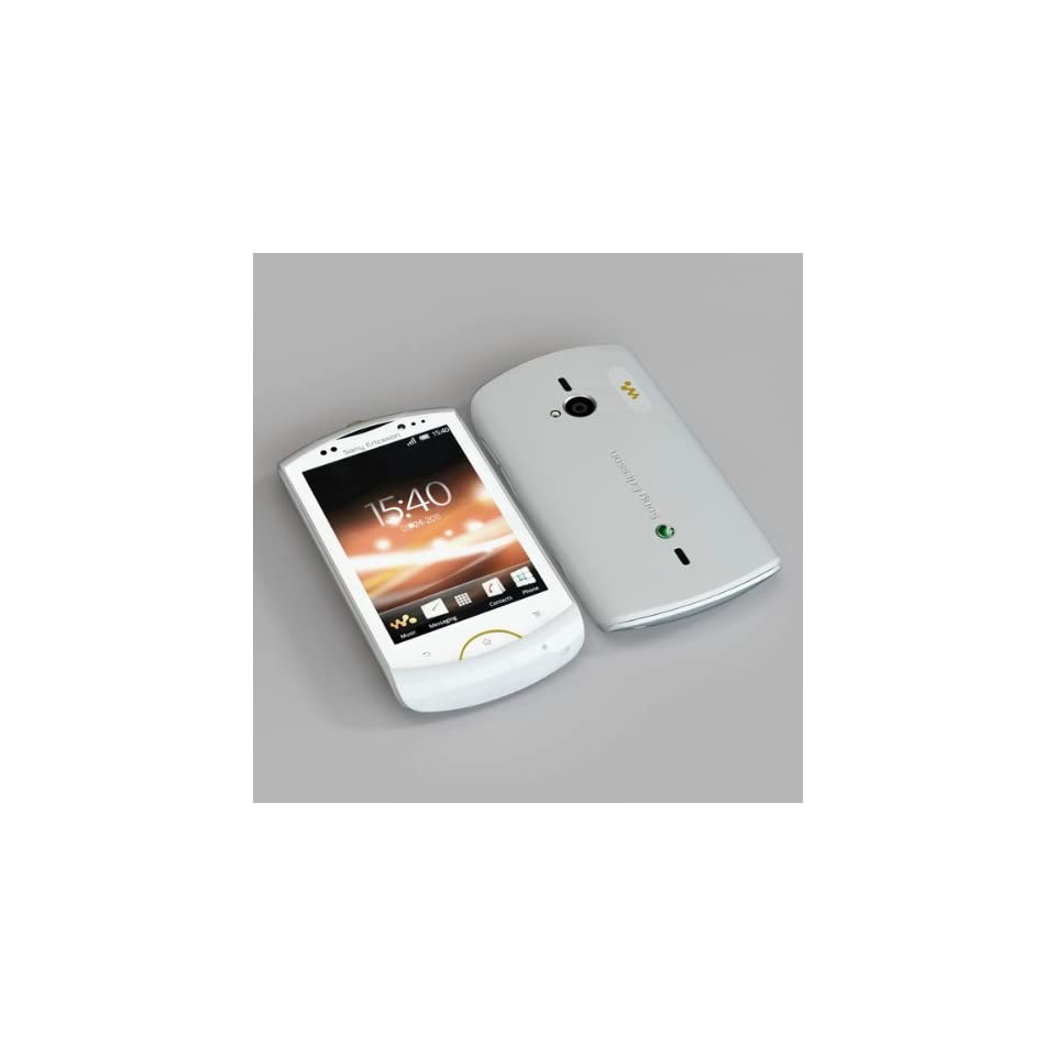 Sony Ericsson Live with Walkman WT19i White Mobile Phone Factory Unlocked Original from Sony