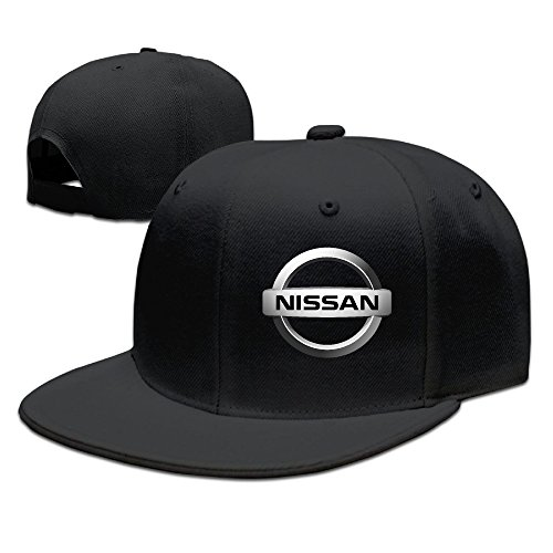 zoena-nissan-logo-cotton-hats-travel-snapback-cap-for-outdoor-sports-black
