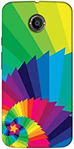 Timpax protective Armor Hard Bumper Back Case Cover. Multicolor printed on 3 Dimensional case with latest & finest graphic design art. Compatible with only Motorola Moto - X-2- 2nd Gen. Design No :TDZ-21158