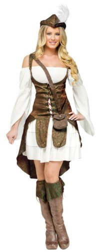 Robin Hood Adult Costume Lg 12-14 Adult Womens Costume