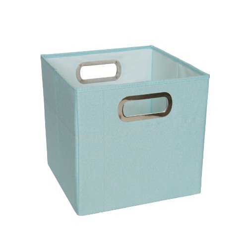 JJ Cole Heather Storage Box, Blue, 11""