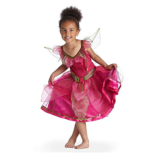 Disney Store Rosetta Fairy Costume With Wings Size 5-6 Years: Tinkerbell Fairies