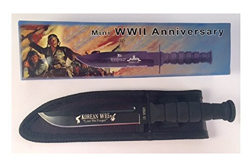WWII Anniversary Korean War Gift Knife Secondhand Misprinted discount knife