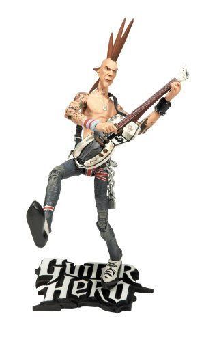 Buy Low Price McFarlane Guitar Hero Johnny Napalm Figure (B001CLT2P0)