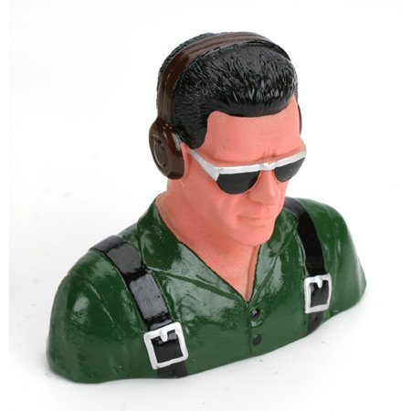 1/5 Pilot, Civilian W/Headphones & Sunglasses(Grn)