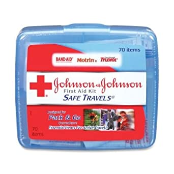 Red Cross Safe Travels First Aid Kit-70 ct