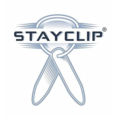 Stayclip Brushed Steel Collar Stays - 8 Pairs