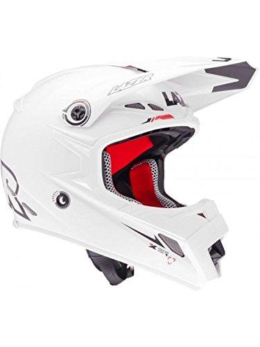Casque Motocross Lazer MX8-Pure Glass X-Line Blanc