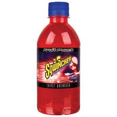 Sqwincher 030905-Fp 12 Oz Ready To Drink Bottle, Fruit Punch Flavor (Case Of 24)