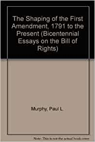 First Amendment Essays (Examples)