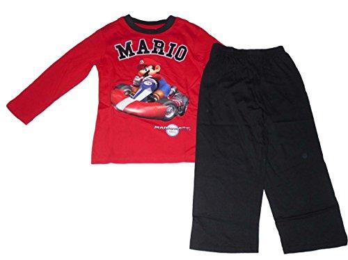 Super Mario -  Pigiama due pezzi  - Maniche lunghe  - ragazzo Rosso rosso