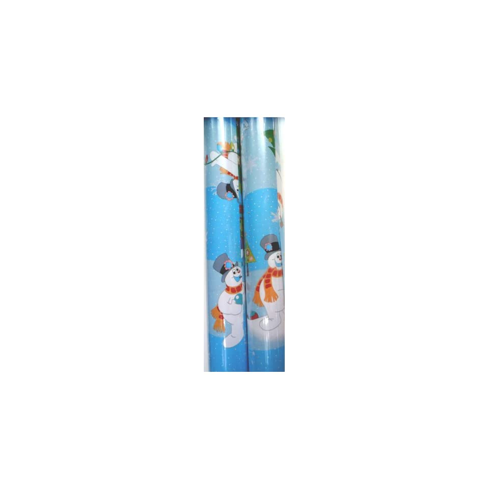 Frosty the Snowman Wrapping Paper Christmas Gift Wrap 2 ROLLS