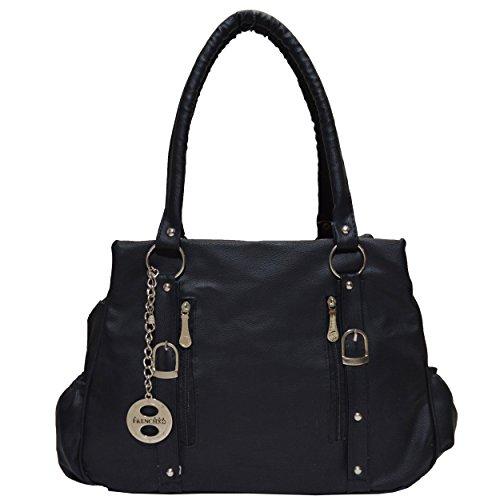 Frenchxd-Cherilynn-Clara-Fancy-Stylish-Handbag-For-Women-Black
