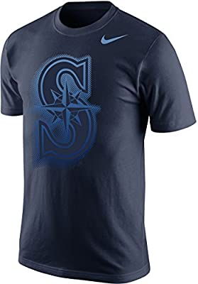 Nike Seattle Mariners MLB Project Fireworks Logo Men's T-Shirt